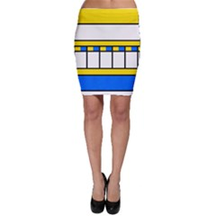 Stripes and squares Bodycon Skirt