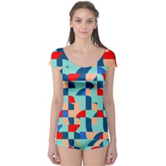 Miscellaneous shapes Short Sleeve Leotard