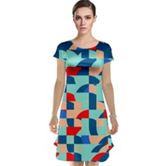 Miscellaneous shapes Cap Sleeve Nightdress