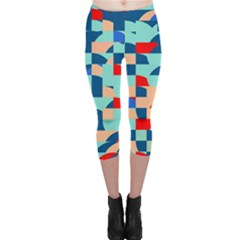 Miscellaneous Shapes Capri Leggings