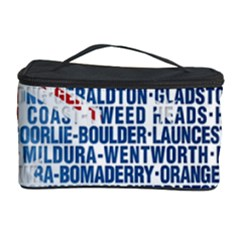 Australia Place Names Flag Cosmetic Storage Cases