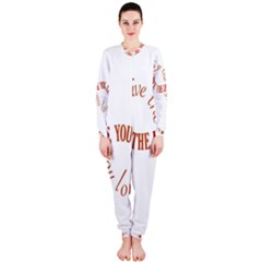 Live The Life You Love OnePiece Jumpsuit (Ladies)