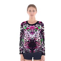 Officially Sexy Panther Collection Pink Long Sleeve T-shirt