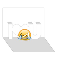 Cryingwithlaughter I Love You 3d Greeting Card (7x5)