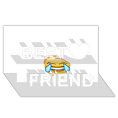 Cryingwithlaughter Best Friends 3D Greeting Card (8x4)