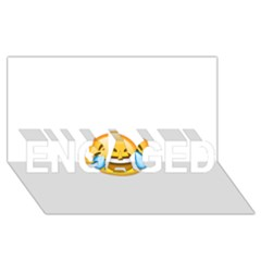 Cryingwithlaughter ENGAGED 3D Greeting Card (8x4)