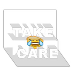 Cryingwithlaughter Take Care 3d Greeting Card (7x5)