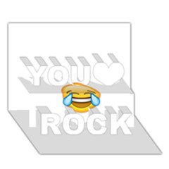 Cryingwithlaughter You Rock 3d Greeting Card (7x5)