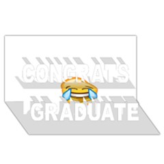 Cryingwithlaughter Congrats Graduate 3d Greeting Card (8x4)