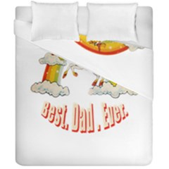 Best  Dad  Ever Duvet Cover (double Size)