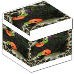 Floating Pumpkins Storage Stool 12