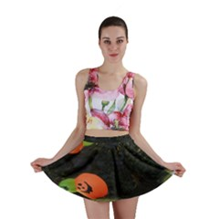 Floating Pumpkins Mini Skirts