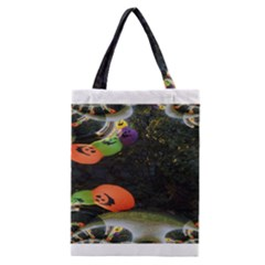 Floating Pumpkins Classic Tote Bags