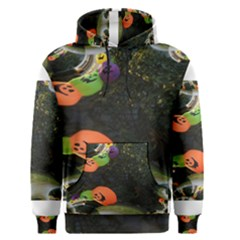 Floating Pumpkins Men s Pullover Hoodies
