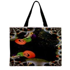 Floating Pumpkins Zipper Tiny Tote Bags