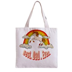 Best. Dad. Ever Zipper Grocery Tote Bags