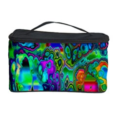 Inked Spot Fractal Art Cosmetic Storage Case