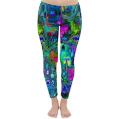 Inked Spot Fractal Art Winter Leggings