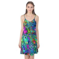 Inked Spot Fractal Art Camis Nightgown