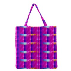 Pink Cell Mate Grocery Tote Bags