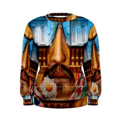 Graffiti Sunglass Art Women s Sweatshirts
