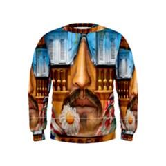 Graffiti Sunglass Art Boys  Sweatshirts