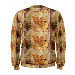 Butterflies Men s Sweatshirts