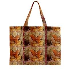 Butterflies Zipper Tiny Tote Bags