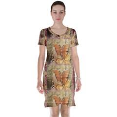 Butterflies Short Sleeve Nightdresses