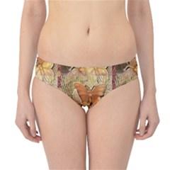 Butterflies Hipster Bikini Bottoms