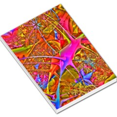 Biology 101 Abstract Large Memo Pads