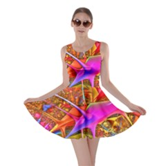 Biology 101 Abstract Skater Dresses