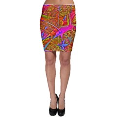 Biology 101 Abstract Bodycon Skirts