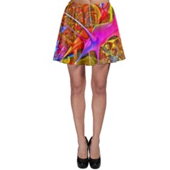 Biology 101 Abstract Skater Skirts