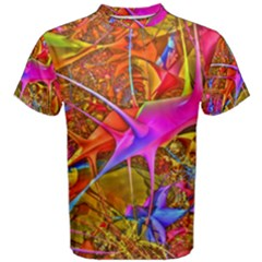 Biology 101 Abstract Men s Cotton Tees
