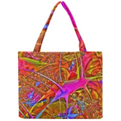 Biology 101 Abstract Tiny Tote Bags