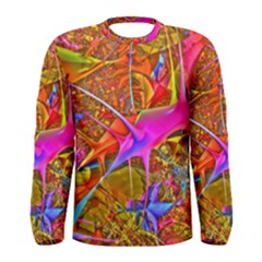Biology 101 Abstract Men s Long Sleeve T Shirts