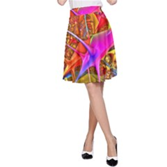 Biology 101 Abstract A-Line Skirts