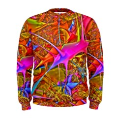 Biology 101 Abstract Men s Sweatshirts