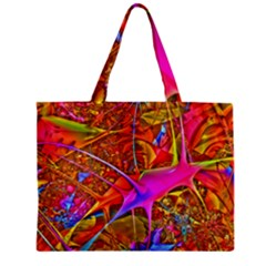 Biology 101 Abstract Zipper Tiny Tote Bags