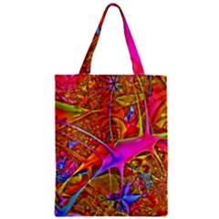Biology 101 Abstract Zipper Classic Tote Bags