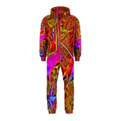Biology 101 Abstract Hooded Jumpsuit (Kids)