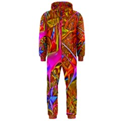 Biology 101 Abstract Hooded Jumpsuit (men)