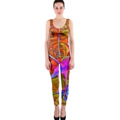 Biology 101 Abstract OnePiece Catsuits