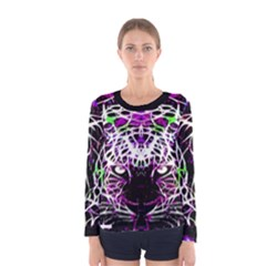 Officially Sexy Panther Collection Purple Women s Long Sleeve T-shirt