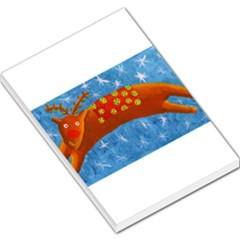 Rudolph The Reindeer Large Memo Pads