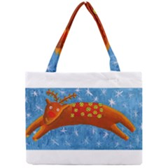 Rudolph The Reindeer Tiny Tote Bags