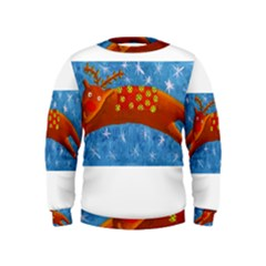 Rudolph The Reindeer Boys  Sweatshirts