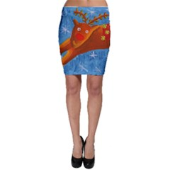 Rudolph The Reindeer Bodycon Skirts