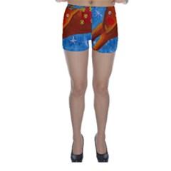 Rudolph The Reindeer Skinny Shorts